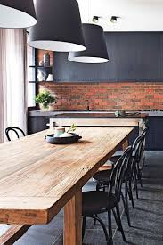 Dining Room Table Ideas by Best 25 Wooden Dining Tables Ideas On Pinterest Dining Table