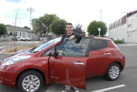 nissan leaf new zealand fuel free way to the future times age