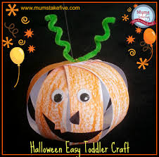 Halloween Crafts For Kids Easy Halloween Easy Toddler Pumpkin Craft