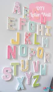 how to make your own letter wall diy letters letter wall art