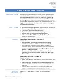 Resume Sample Director by Interesting Ideas Hr Manager Resume 5 Best Human Resources Manager