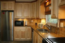 Restaining Kitchen Cabinets Engaging Restaining Kitchen Cabinets Lighter Images Of Curtain