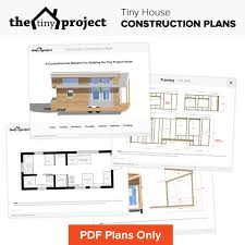 Massive House Plans by Tiny House On Wheels Floor Plans Pdf For Construction