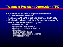 Treatment Resistant Depression and Borderline Personality