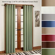 Blackout Curtain Panels Ultimate Blackout Grommet Curtain Panels