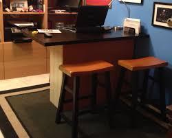 breakfast bar home office desk ikea hackers ikea hackers