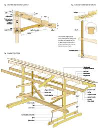 Free Firewood Shelter Plans by Free Canoe Boat Rack Wood Plans