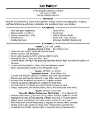 Sample Of Resume Skills And Abilities by Unforgettable Busser Resume Examples To Stand Out Myperfectresume