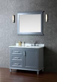 Bathroom Vanities 42 Inch by Ariel Nantucket Single 42 Inch Transitional Bathroom Vanity Set