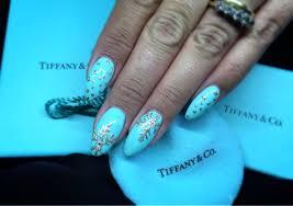 christmas at tiffany u0027s hand painted snowflake nail art
