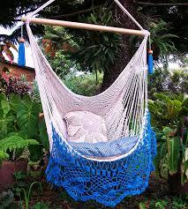 Macrame Hammock Chair Amazon Com Beautiful Hammock Chair Crochet With Beige And Light