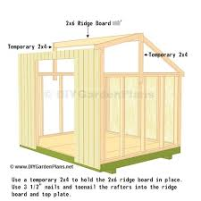 Diy 10x12 Shed Plans Free by Diy Saltbox Shed Guide