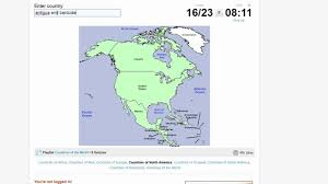 Central America Map Quiz by Quiz Countries Of North America Youtube