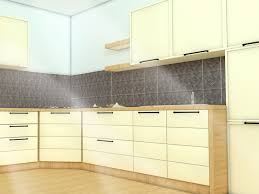 how to install a kitchen backsplash with pictures wikihow