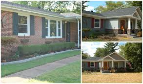 Cottage Style House by Before And After Ranch Style Home Into Craftsman Style Home