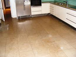 kitchen floor tile ideas with oak cabinets l shaped white wood
