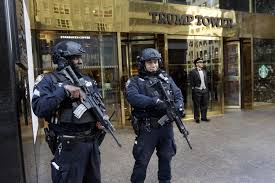 fort trump new security measures ring trump tower the morning call