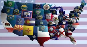 Map Of America With States by United States Of America Flag Map By Jaysimons On Deviantart