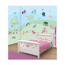 walltastic my little pony room decor wall sticker kit bedroom