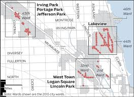 Chicago Parking Map by Paid Sunday Parking Chicago Tribune