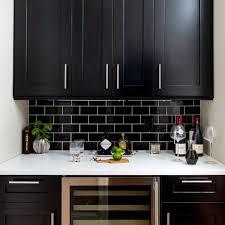 Black Kitchen Designs Photos Best 25 Black Subway Tiles Ideas On Pinterest Black And White