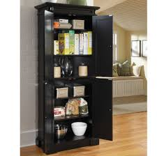 cute portable kitchen pantry onyx black wooden cabinets combined