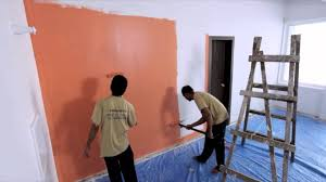 how to paint interior walls of your home and add colour to them