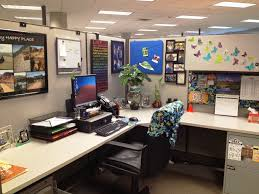 office cubicle ideas for office with l shape desk and divider
