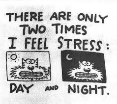 All of us need some stress