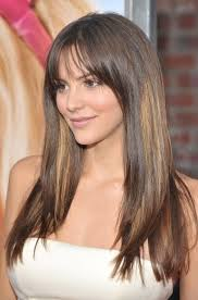medium length straight hairstyles for round faces hairstyles for round faces the most flattering cuts