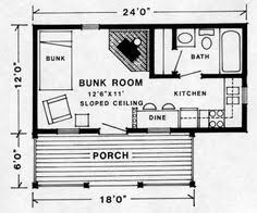 Small Cottage Floor Plan New Panel Homes 20 By 30 Traditional Floor Plan Small Tiny