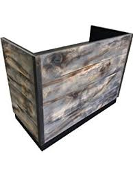 8 Foot Desk by Amazon Com 8 Foot Memphis Reception Desk Made With Reclaimed