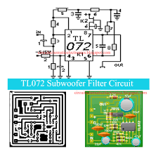 home theater circuit diagram tl072 subwoofer filter circuit electronic circuit