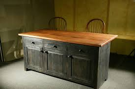 Reclaimed Kitchen Islands Hand Crafted Rustic Barn Wood Kitchen Island By Ecustomfinishes