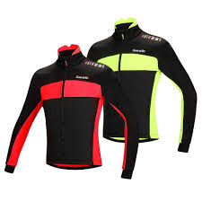 red cycling jacket santic fleece thermal winter cycling jacket cotton coat sales