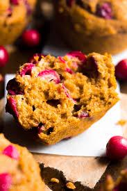 cranberry pumpkin muffins amy u0027s healthy baking