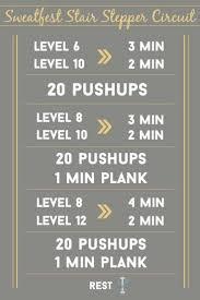 Stair Master Workout by Best 20 Stair Stepper Workout Ideas On Pinterest Stepper