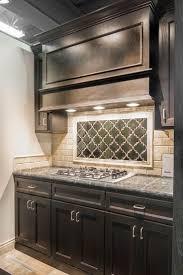kitchen ideas for kitchen backsplash and dark wood kitchen