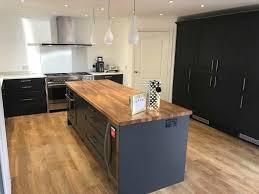 Kitchen Design Hertfordshire Shaker Style Kitchen Fitted In Lower Stondon Hertfordshire