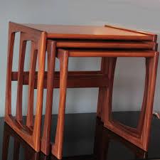 Plan Set Vintage Teak Nesting Tables From G Plan Set Of 3 For Sale At Pamono