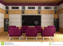 luxury home theater luxury home theater room royalty free stock images image 33986649