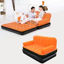 Intex Inflatable Pull Out Sofa by Aliexpress Com Buy 2 In 1 Inflatable Daybed Lounger Airbed Pull