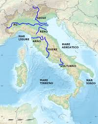 Como Italy Map by List Of Rivers Of Italy Wikipedia