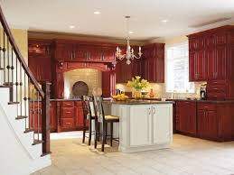 cherry cabinets in kitchen 44 best schrock cabinetry images on pinterest bathroom cabinets