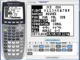 Pre Calculus TI Graphing Calculator Tutorials Series of Videos      C    Calculator MODE and FORMAT Menus preview image