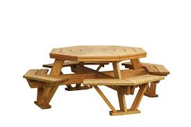 picnic table wood outdoorlivingdecor