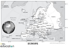 Europe After Ww1 Map by Europe Human Geography National Geographic Society