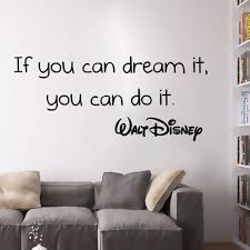 online get cheap wall stickers positive quotes aliexpress com positive quotes new wall stickers if you can dream it you can do it removable vinyl