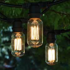 Patio Lights Outdoor by String Lights Indoor And Outdoor Commercial String Lights