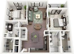 Two Bedroom Apartment Floor Plans 96 Best House Plans Images On Pinterest Bedroom Apartment